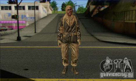 Task Force 141 (CoD: MW 2) Skin 18 для GTA San Andreas