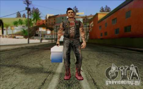 Claude in Pank Style для GTA San Andreas