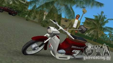 Jawa Type 20 Moped для GTA Vice City