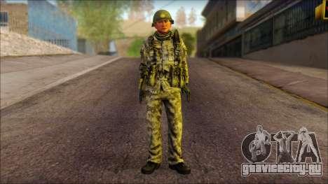 Северокорейский солдат (Rogue Warrior) для GTA San Andreas