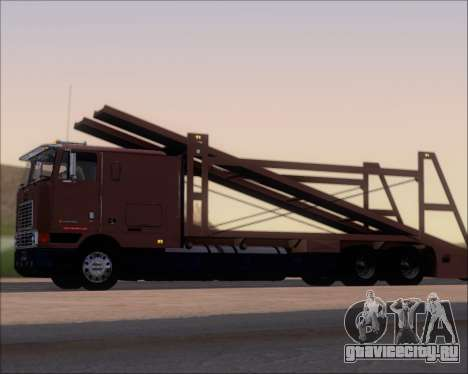 Navistar International 9700 1997 для GTA San Andreas вид сзади