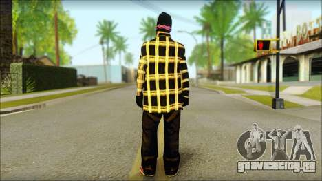 East Side Ballas Skin 3 для GTA San Andreas второй скриншот
