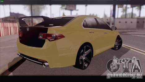Honda Accord Mugen для GTA San Andreas вид слева