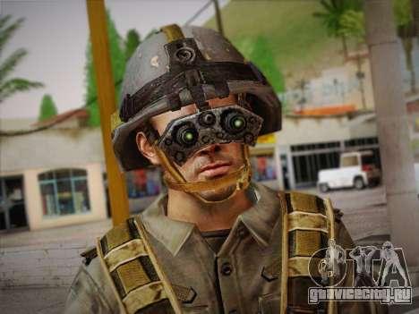 Боец СВР (Tom Clancy Splinter Cell) v2 для GTA San Andreas третий скриншот