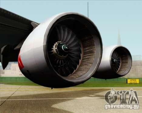 Airbus A380-841 Qantas для GTA San Andreas вид сбоку