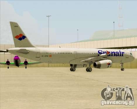 Airbus A321-231 Spanair для GTA San Andreas двигатель