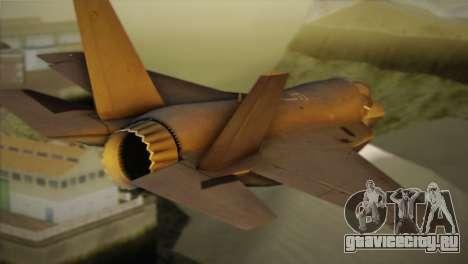 Lockheed Martin F-35A для GTA San Andreas вид слева