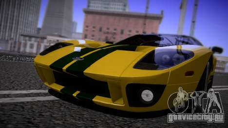 Ford GT 2005 Road version для GTA San Andreas вид слева