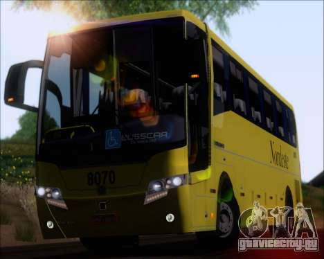 Busscar Elegance 360 Viacao Nordeste 8070 для GTA San Andreas вид сзади