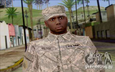 California National Guard Skin 5 для GTA San Andreas третий скриншот