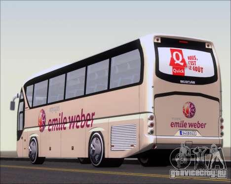Neoplan Tourliner Emile Weber для GTA San Andreas салон