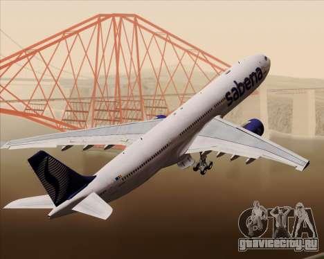 Airbus A330-300 Sabena для GTA San Andreas