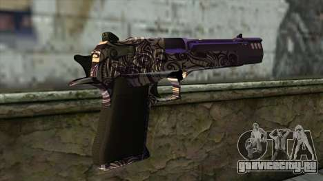 PurpleX Desert Eagle для GTA San Andreas второй скриншот