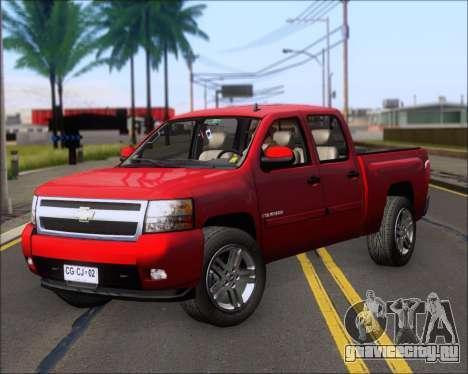 Chevrolet Silverado 2011 для GTA San Andreas вид слева