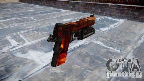 Пистолет Kimber 1911 Bacon для GTA 4 второй скриншот