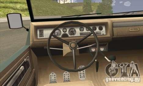 GTA V Canis Kalahari для GTA San Andreas вид сзади слева