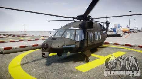 Sikorsky MH-X Silent Hawk [EPM] v2.0 для GTA 4