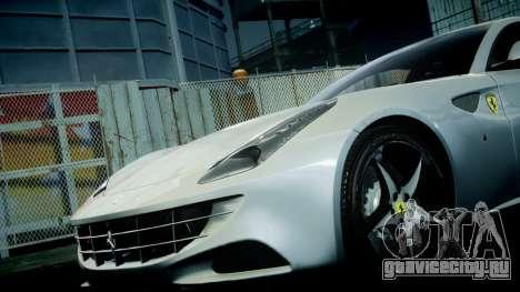 Ferrari FF 2011 v1.5 для GTA 4 вид сверху