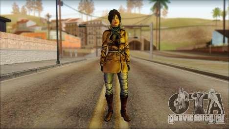 Tomb Raider Skin 2 2013 для GTA San Andreas