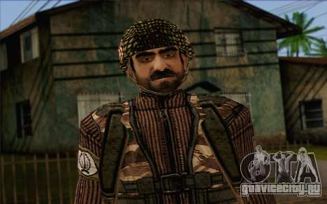Солдат МЕК (Battlefield 2) Skin 4 для GTA San Andreas третий скриншот