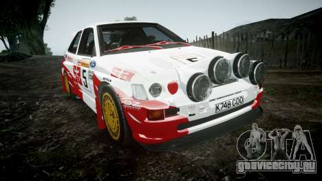 Ford Escort RS Cosworth 2.0 SA Competions для GTA 4