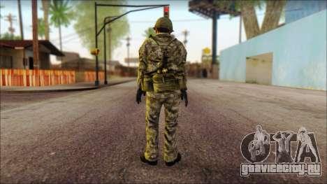Северокорейский солдат (Rogue Warrior) для GTA San Andreas второй скриншот