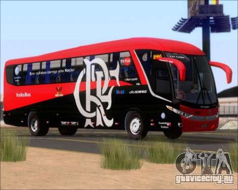 Marcopolo Paradiso 1200 G7 4X2 C.R.F Flamengo для GTA San Andreas вид снизу