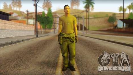 GTA 5 Soldier v1 для GTA San Andreas