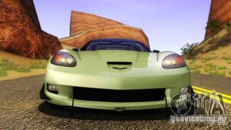 Chevrolet Corvette Z06 2006 Drift Version для GTA San Andreas вид справа