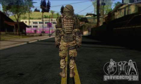 Task Force 141 (CoD: MW 2) Skin 9 для GTA San Andreas второй скриншот
