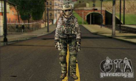 Task Force 141 (CoD: MW 2) Skin 1 для GTA San Andreas