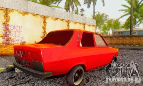 Dacia 1300 Tuned для GTA San Andreas вид сзади слева