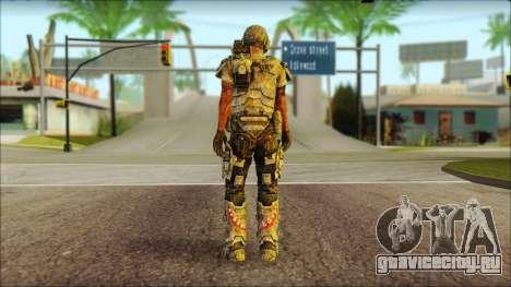 Космодесантник (Aliens vs. Predator 2010) v2 для GTA San Andreas второй скриншот