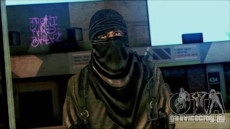 Солдат ВДВ (CoD: MW2) v6 для GTA San Andreas третий скриншот