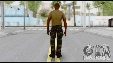 Army Vic для GTA San Andreas второй скриншот