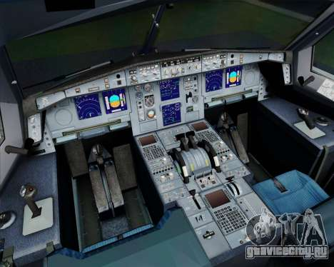 Airbus A330-300 Philippine Airlines для GTA San Andreas салон