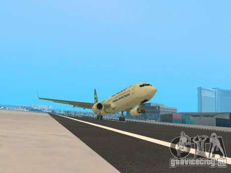 Boeing 737-84R Ukraine International Airlines для GTA San Andreas вид слева
