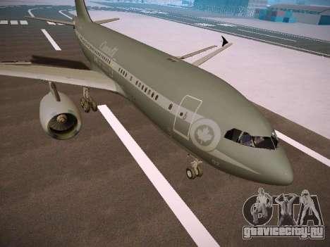 Canadian Forces Airbus CC150 Polaris для GTA San Andreas вид слева
