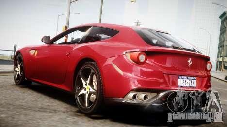 Ferrari FF 2011 v1.5 для GTA 4 вид слева