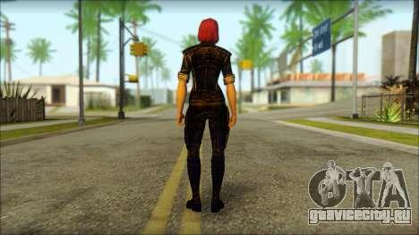 Mass Effect Anna Skin v8 для GTA San Andreas второй скриншот