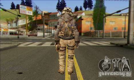 Task Force 141 (CoD: MW 2) Skin 13 для GTA San Andreas второй скриншот