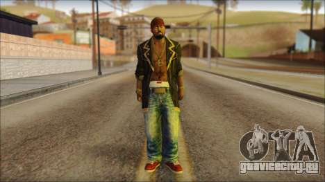 New Grove Street Family Skin v1 для GTA San Andreas