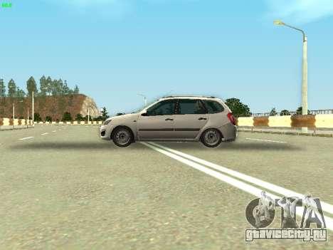 Lada Kalina 2 Универсал для GTA San Andreas вид сзади