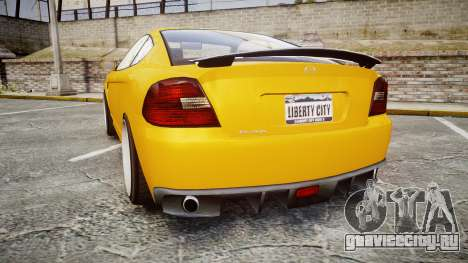 GTA V Bollokan Prairie Wheel1 для GTA 4 вид сзади слева