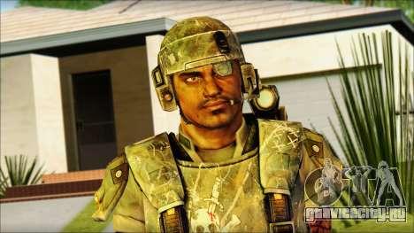 Космодесантник (Aliens vs. Predator 2010) v2 для GTA San Andreas третий скриншот
