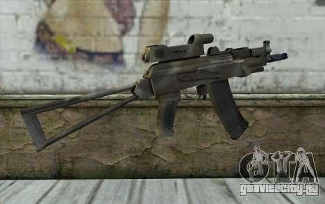 AK74U from Battlefield 2 для GTA San Andreas второй скриншот