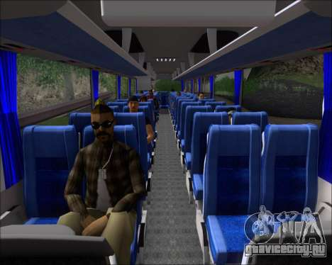 MAN Lion Coach Rural Tours 2790 для GTA San Andreas салон