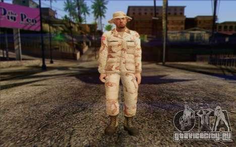 California National Guard Skin 1 для GTA San Andreas