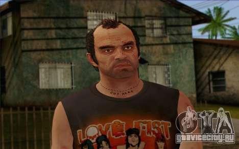 Trevor Phillips Skin v4 для GTA San Andreas третий скриншот