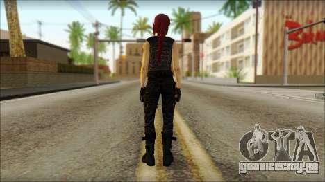 Tomb Raider Skin 14 2013 для GTA San Andreas второй скриншот